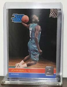2010-11 JOHN WALL HOUSTON ROCKETS PANINI DONRUSS RATED ROOKIE #228 RC