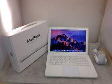 """UPGRADED Apple MacBook 13.3"""" 2.26GHz 4GB RAM 250GB HDD A1342 Sierra See Descrip."""