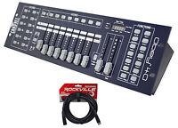 Chauvet DJ OBEY40 DMX 512 Light / Fog Controller +FREE 25' Foot DMX Cable