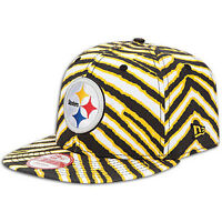 Pittsburgh-Steelers-New-Era-Zubaz-9Fifty-Snapback-Cap-NFL-Licensed-Hat