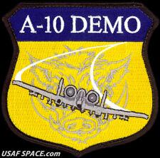 USAF A-10 DEMONSTRATION FLIGHT TEAM -SHIELD- Davis-Monthan AFB- ORIGINAL PATCH