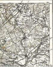 Eschede Beedenbostel Höfer 1899 1906 parte scheda/LN. Scharnhorst opérations gockenholz
