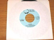 "PROMO SOUL 45 RPM - HOT CHOCOLATE - BIG TREE 16031 - ""EMMA"""