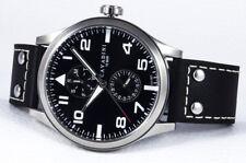 """Cavadini """"Stingray"""" Hombre Reloj Pilotos,Calendario VX7P,50mm,Acero Inoxidable"""