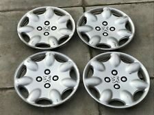 "PEUGEOT 106 13"" WHEEL TRIM X 4 HUB CAP 206 GENUINE 9628301877 OPUS FULL SET"