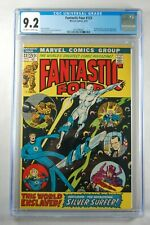 Fantastic Four #123 CGC GRADED 9.2 OW/WHITE MARVEL NIXON COVER/SILVER SURFER