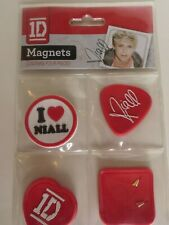 One Direction 1D Band  I Love Niall Magnets 4 Piece