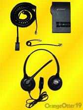 Plantronics HW261N SupraPlus Headset with M12 VISTA Amplifier and all Cords