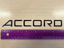 2X Accord STICKERS Honda sticker 7¨ decal autocollant White-Black-Silver or Gold