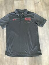 Nike Dri-fit Mater Dei Basketball Grey Polo Shirt Men's Large