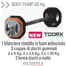Toorx SET BODY PUMP 20KG - BILANCIERE + DISCHI IN GHISA e MOLLE - OFFERTA ITALIA