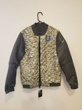 INDIANAPOLIS COLTS 2017 NFL Salute to Service Nike Reversible Bomber Jacket  XL