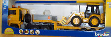 BRUDER 02776 MAN CAMION CONTAINERCON BENNA CAT   scala 1:16 cod.18048