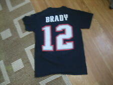 Tom Brady #12 New England Patriots Super Bowl LII Youth SMALL Football Shirt