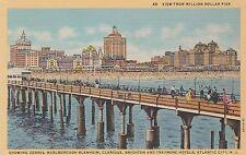 "*New Jersey Postcard-""View From Million Dollar Hotel"" /Atlantic City/ (U1-NJ7)"