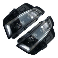 HID Headlights Fit For Ford EDGE 2015-2018 with LED DRL Bi-Xenon Projector Lens