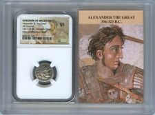 336-323 BC Alexander III Great Drachm NGC VF Kingdom Macedon Story Vault