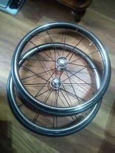 "Spinergy Wheelchair Wheels X2 12spoke 22"""