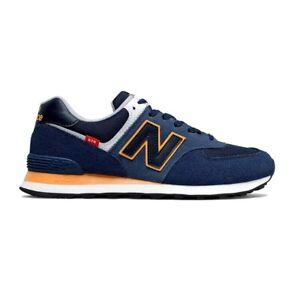 New Balance ML574SY2 Sneaker Herren Laufschuhe Retro Running Schuhe Blau