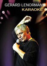 30376 // GERARD LENORMAN EN KARAOKE 10 TITRES DVD NEUF SOUS BLISTER