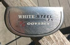 RH ODYSSEY WHITE STEEL # 5  PUTTER 35 INCHES