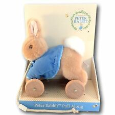 Pull Along Toy Peter Rabbit Beatrix Potter