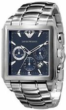 EMPORIO-ARMANI-SILVER-STAINLESS-STEEL-QUARTZ-WITH-BLUE-DIAL-AR0660-MENS-WATCH
