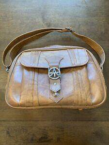Vintage American Luggage Leather Bag