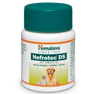 Himalaya Nefrotec DS Vet for Dog's and Cat's urinary track infection 60 tablets