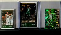2019-20 Panini Stickers and Cards Jayson Tatum Boston Celtics 3 Card Lot NM/MT