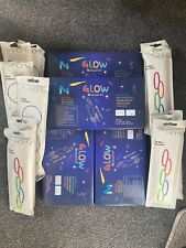500x Glow Sticks, Bracelets, Necklaces Neon Colour. Various Sizes.