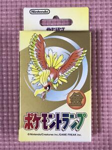 Pokemon Playing Cards Gold Nintendo 1999 Sealed NEW FedEx Expedited Shipping