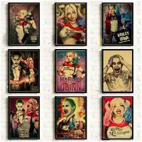 Harley Quinn Suicide Squad Batman DC Comic Bild Poster Film selten sammeln Deko