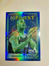 1995-96 Finest SHAQUILLE O'NEAL #32 Refractor (with protective cover))