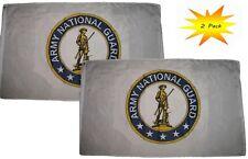 3x5 3' x 5' en gros set (Pack 2) Armée National Garde Emblème CREST