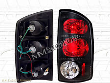 2002-2006 DODGE RAM 1500/2500/3500 TAIL LIGHTS DARK SMOKE 02 03 04 05 06
