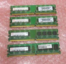 Hynix HYMP564U64BP8-C4 30R5121 2GB (4x512MB) 1Rx8 PC2-4200 DDR2 240P CL4 Desktop