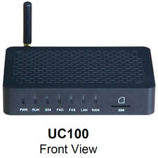 Dinstar uc100 All-in-one 1 Channel GSM, FXS + SIP, WiFi Gateway VoIP