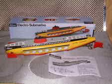 RARE SCHUCO 5552 ELECTRO-SUBMARINO SUBMARINE, PERFECTLY WORKING W/REPRO BOX