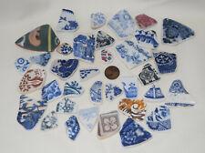 Beautiful Pottery Shards  ,jewellery , Beach finds, England