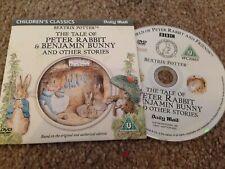 BEATRIX POTTER The Tale Of Mrs. Tiggy-Winkle & Mr Jeremy Fisher & Stories DVD