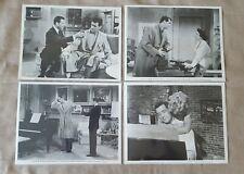 1959 Pillow Talk movie lot 4 press kit 8x10 B&W photos Rock Hudson Tony Randall