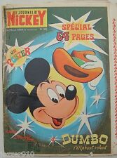 ¤ LE JOURNAL DE MICKEY n°962 ¤ 22/11/1970 SPECIAL + POSTER DUMBO