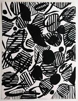 Helmut Dittmann 1931-2000 Berlin Informel: Schwebende Formen Tusche 1977 30 x 23