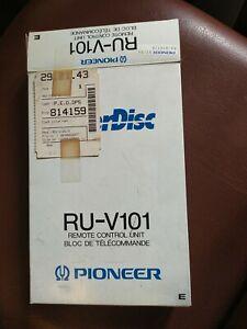 Pioneer Laser Disc RU-V101 Remote Control Unit Fernbedienung