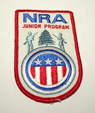 Vintage Nra National Rifle Association Jr Program Patch Nos 1970s