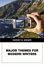 Major Themes for Modern Writers by Harvey S. Wiener (2007, Paperback)