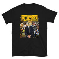 Funny Dogecoin The Woof Crypto Short-Sleeve Unisex T-Shirt