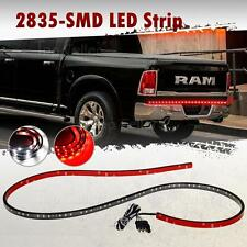 "Red/White 60"" LED Tailgate Light Bar Reverse Brake Turn Signal Running Light"