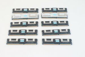 Hynix 2x HMP31GF7AFR4C-Y5D5 8GB 2Rx4 & 8x D35173 Dell 4GB DDR2 PC2-5300 Lot / 10